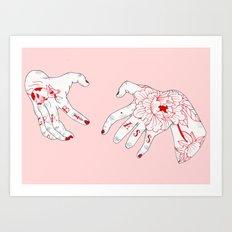 Grab A$$ Art Print