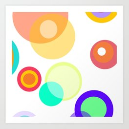 Colors in the sky are blinding Art Print