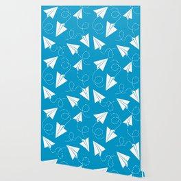 Paper Plane Wallpaper