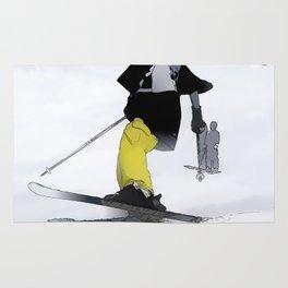 Ski Run Finish Rug