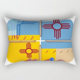 Altered State: NM Rectangular Pillow