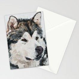 Best Friend husky Stationery Cards