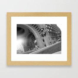 Bostonian Beauty Framed Art Print