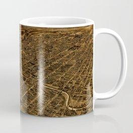 Map Of Allentown 1922 Coffee Mug