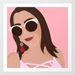 @callie_cross Art Print