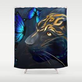 Beautiful Beast Shower Curtain