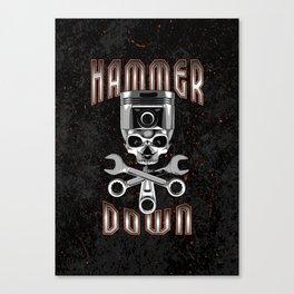 Hammer Down Canvas Print