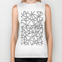 dots Biker Tanks featuring Dots by Project M