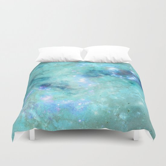 Abstract Galaxies 4 Duvet Cover