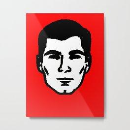 Sterling Mallory Archer Metal Print