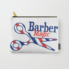 Barber Magic - red, white, blue Carry-All Pouch