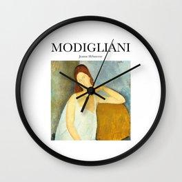Modigliani - Jeanne Hébuterne Wall Clock