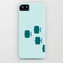 School of fish iPhone Case