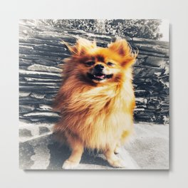 Keep on Smiling Metal Print