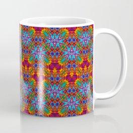 Batik Rainbow Zigzags Coffee Mug