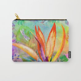 Bird of paradise i Carry-All Pouch