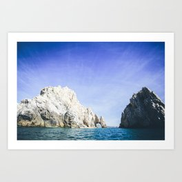Lands End, Baja, Mexico Art Print