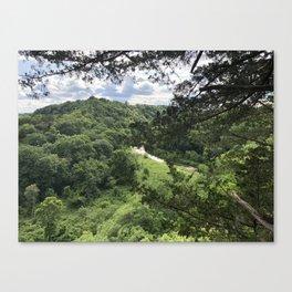 Whitewater Canyon Canvas Print