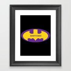Bartman Framed Art Print