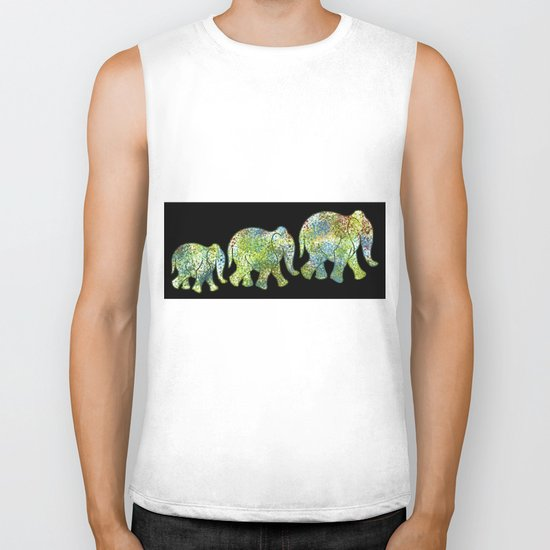 elephant 1 Biker Tank