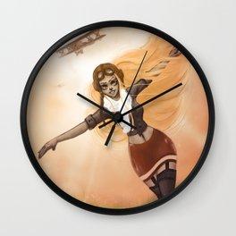 Flying Free Wall Clock