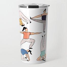 Yoga Ladies Travel Mug