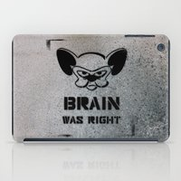 political iPad Cases featuring Getting Political by Cowabunga