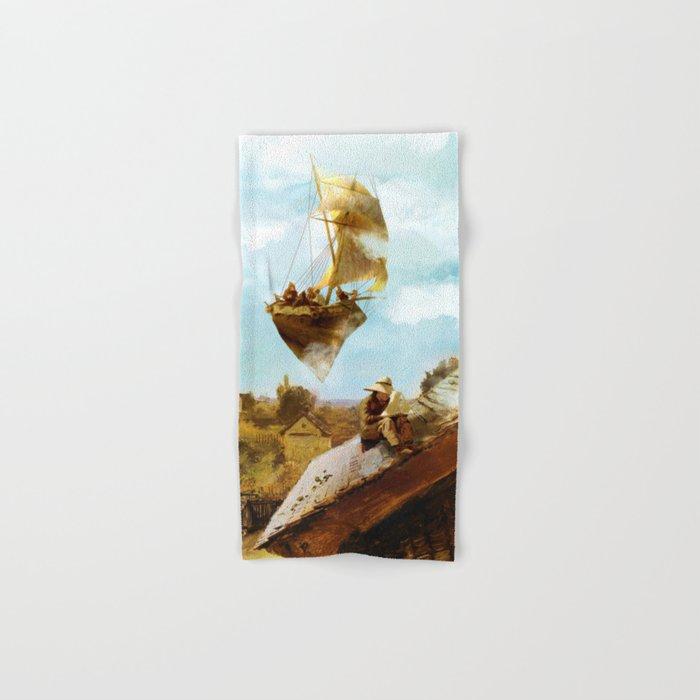 Sky Fishermen Hand & Bath Towel