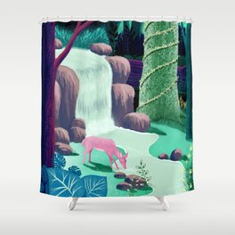 The Whispering Waters of Eventide Vale Shower Curtain