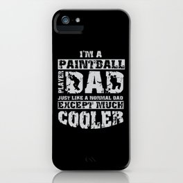 Great Paintball Design Outdoor Gotcha iPhone Case