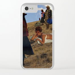 Honey, I've found a Perfect Spot for Gentrification Clear iPhone Case