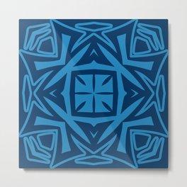 Deep Blue (colored Callisto) Metal Print