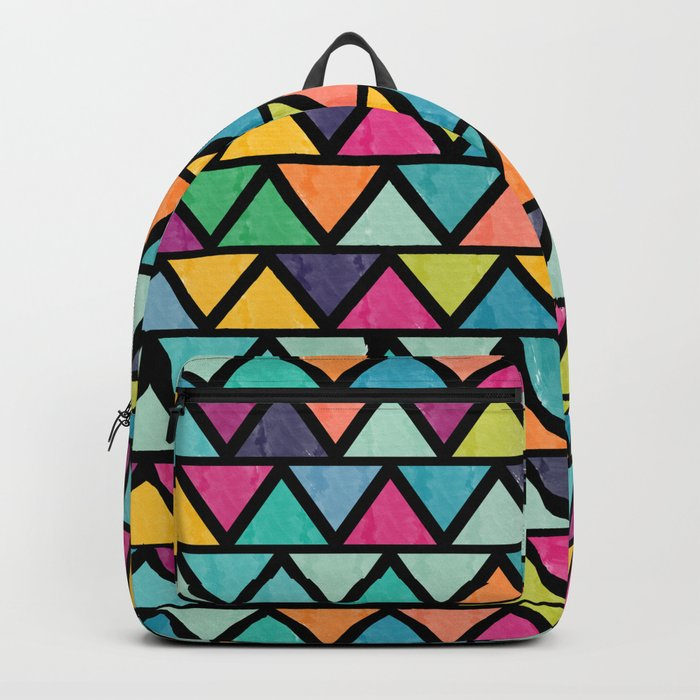 Lovely geometric Pattern IV Backpack