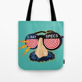 X-Ray Beaglepuss Specs Tote Bag