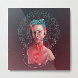 Ishiee: Moonlight Metal Print