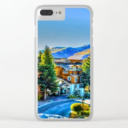 Vail Colorado Photo Clear iPhone Case
