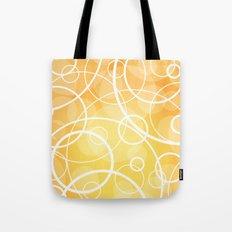 Hard Line Bokeh Tote Bag