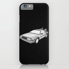 Back to the Future Delorean illustration Slim Case iPhone 6s