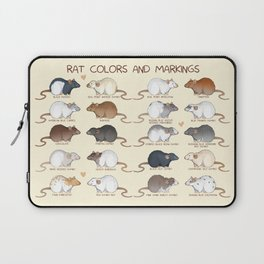 Rat colors and markings  Laptop Sleeve