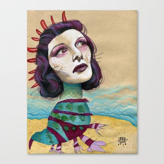 SHORE Canvas Print