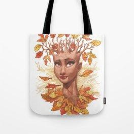 Fall Goddess Tote Bag