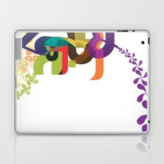 Flowers of Simele Laptop & iPad Skin