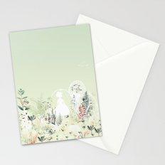 lady mistick Stationery Cards