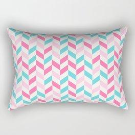down arrow pattern Rectangular Pillow