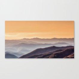 smoky mountains #society6 #buyart #decor Canvas Print