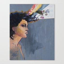 Evangeline Iris Canvas Print