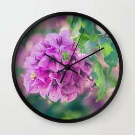 117 - Summer Wall Clock