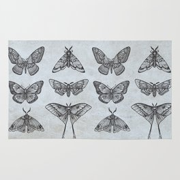 Moths & Butterflies Rug