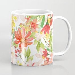 Summer Flowers Collage Coffee Mug