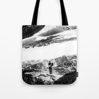 return Tote Bags featuring Return to isolation planet by Stoian Hitrov - Sto